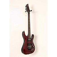 Used Schecter Guitar Research Hellraiser C-1 With Floyd Rose Sustainiac Electric Guitar Black Cherry 888365929637