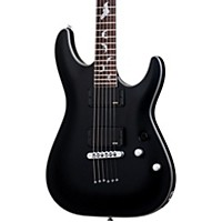 Schecter Guitar Research Damien Platinum 6 Electric Guitar Satin Black