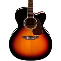 Takamine Gj72ce G Series Jumbo Cutaway Acoustic-Electric Guitar Gloss Sunburst
