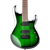 Sterling By Music Man Jp70 7-String  Electric Guitar Transparent Green Burst