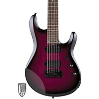 Sterling By Music Man 7-String Electric Guitar Transparent Purple Burst