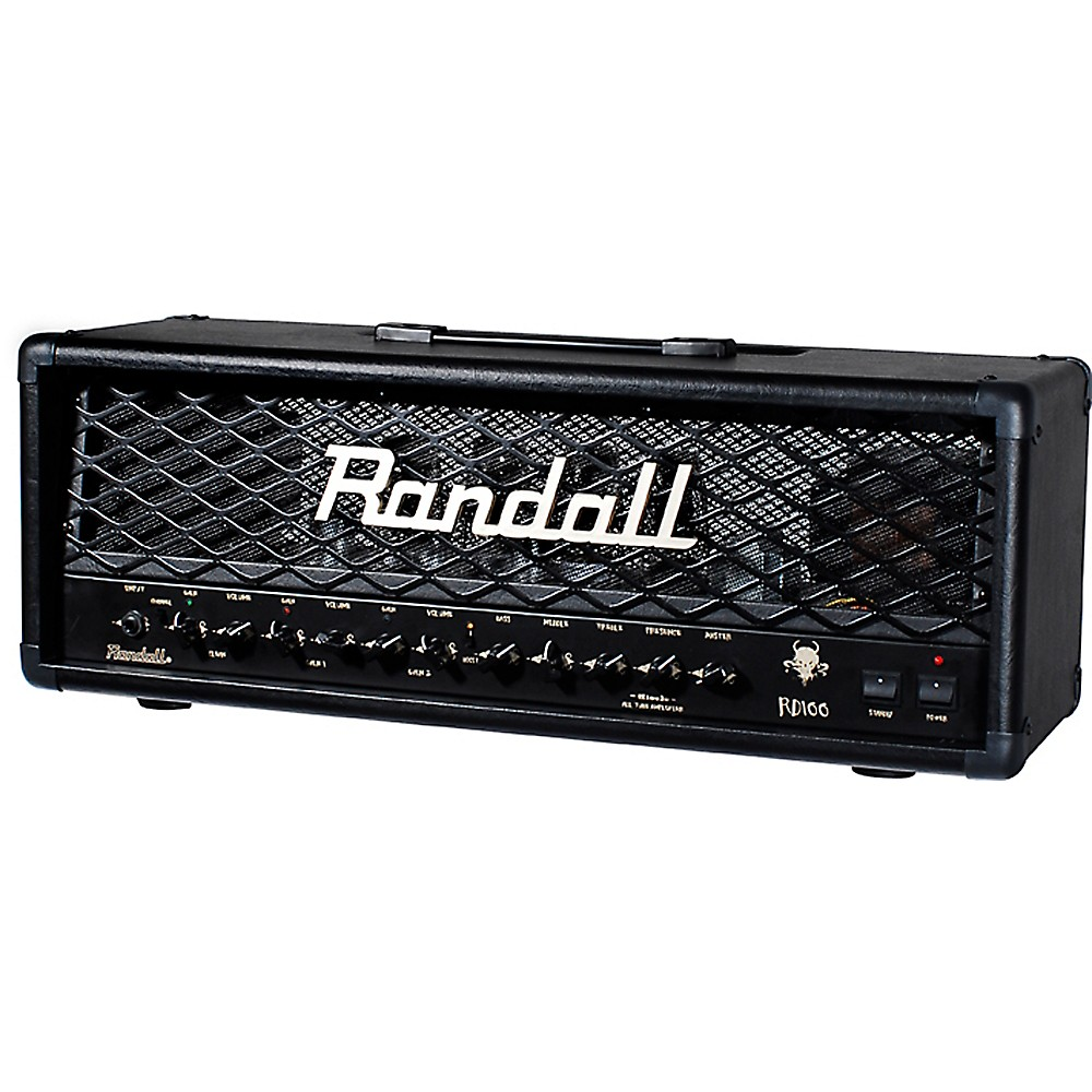 Randall Rd100h Diavlo 100W Tube Guitar Head Black