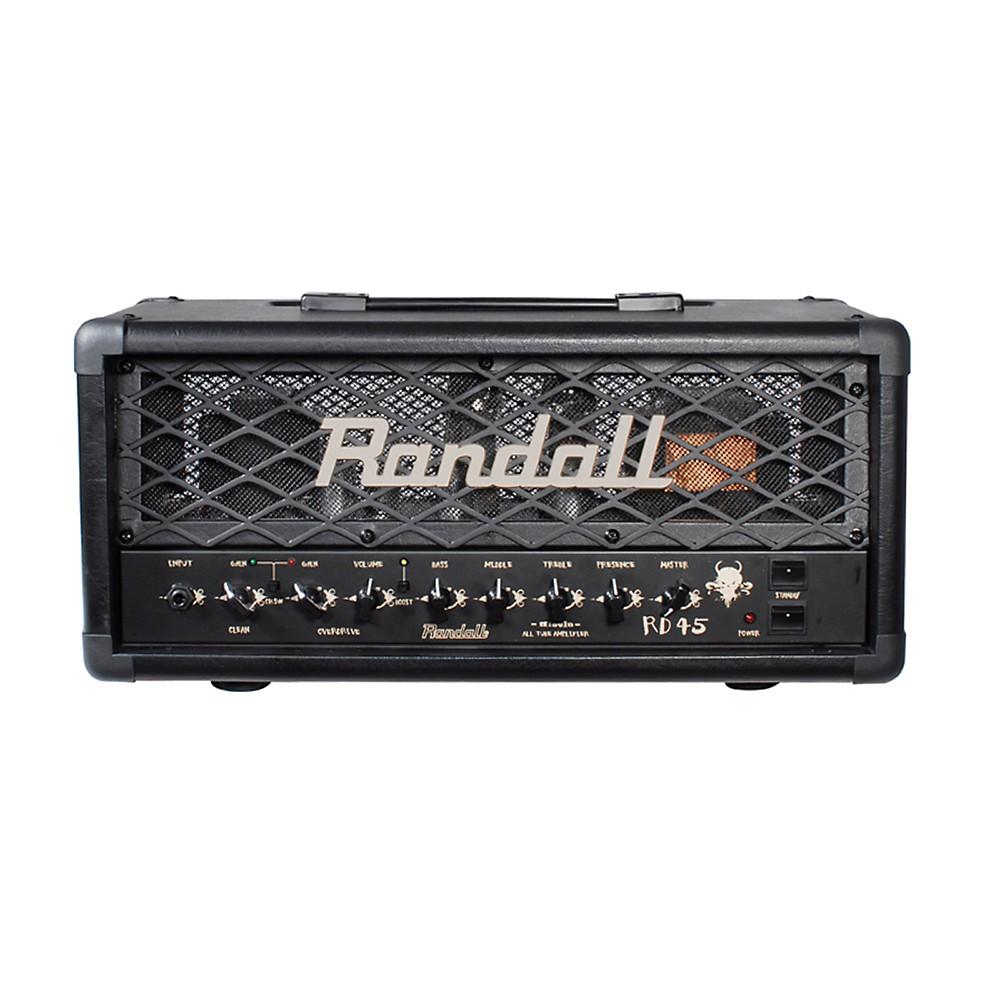 Randall Rd45h Diavlo 45W Tube Guitar Head Black
