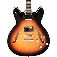 Hagstrom Viking Baritone Electric Guitar Tobacco Sunburst