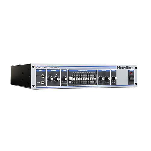 Hartke HA Series HA2500 250 Watt Bass Amp Head