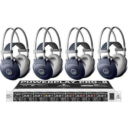 AKG HA8000/K77 Headphone Four Pack