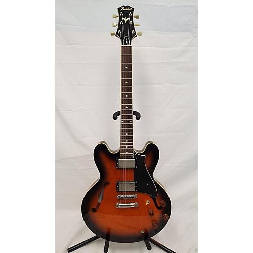 PEERLESS HARDTAIL Hollow Body Electric Guitar Sunburst