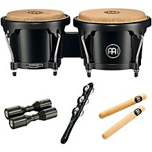 Meinl HB50 Bongo Set with Free Shaker and Claves