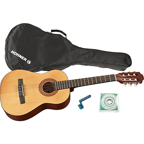 Hohner HC02P 1/2 Sized Classical Guitar Pack