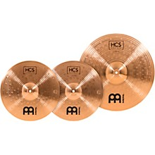 Meinl HCS Bronze Basic Cymbal Set