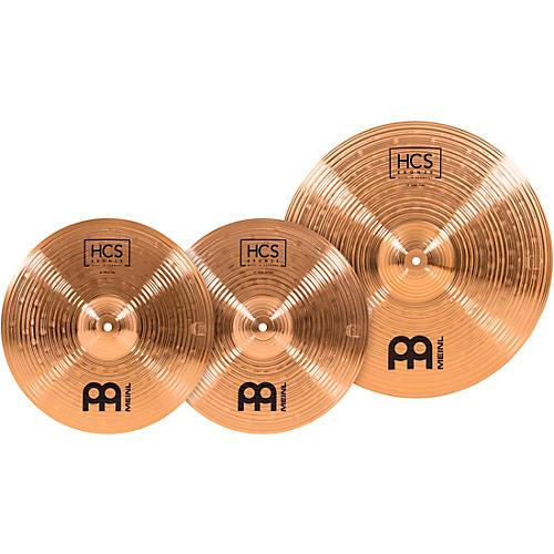 Meinl HCS Bronze Basic Cymbal Set 14/18 in.