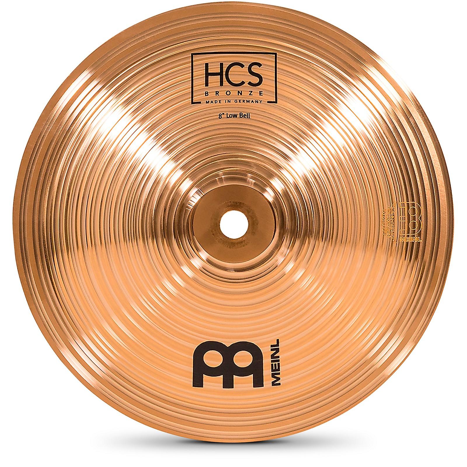 Meinl HCS Bronze Bell, Low, 8 in.