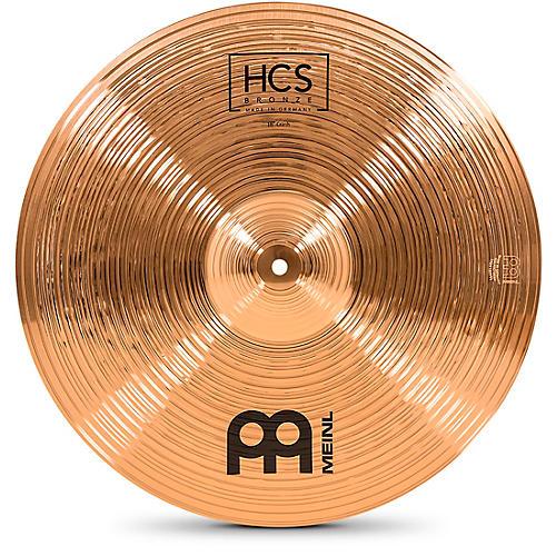 Meinl HCS Bronze Crash Cymbal 18 in.