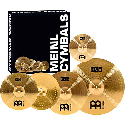 "Meinl HCS Complete Cymbal Set with Free 10"" Splash"