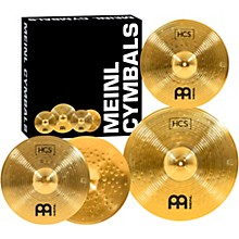Open BoxMeinl HCS Cymbal Pack with Free 14 Inch Crash