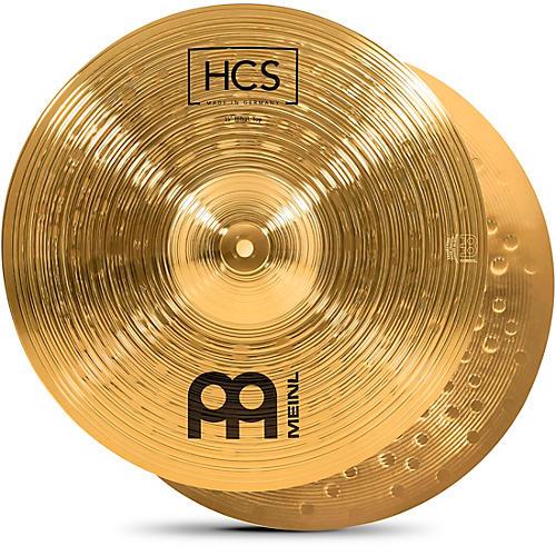 Meinl HCS Hi-Hat Cymbal Pair 15 in.
