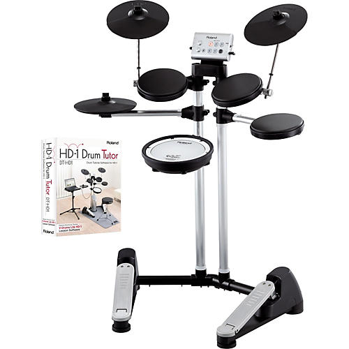 Roland HD-1 V-Drums Lite Electronic Drum Set with Drum Tutor