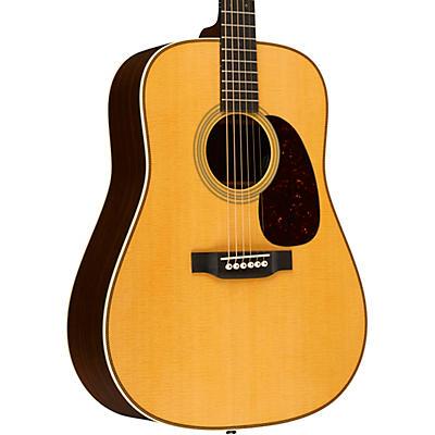 Martin HD-28E Dreadnought Acoustic-Electric Guitar with Fishman Aura VT Enhanced