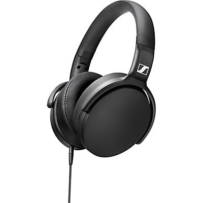 Sennheiser HD 400S Foldable Closed-Back Headphones with One-Button Remote Mic in Black