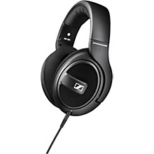 Open BoxSennheiser HD 569 Closed-Back Around-Ear Headphones with One-Button Remote Mic in Black