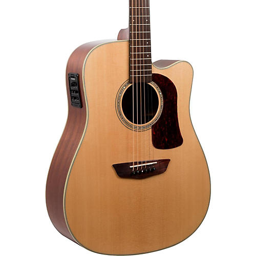 Washburn HD100SWCEK Heritage Series Dreadnought Acoustic-Electric Guitar