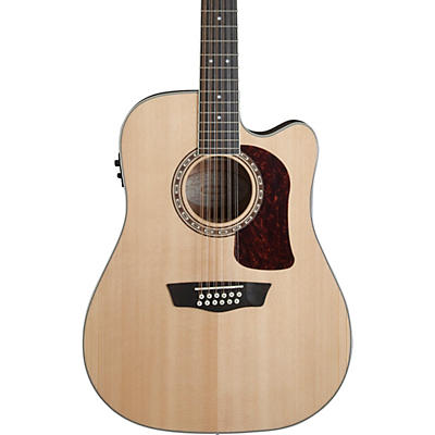 Washburn HD10SCE12 Heritage 10 Series 12-String Acoustic-Electric Guitar