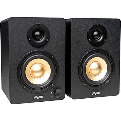 Headliner HD3 3.5 In. Powered Studio Monitors Pair Black