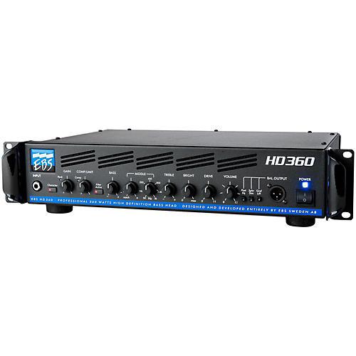 EBS HD360 360W Bass Guitar Amplifier Head