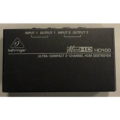 Behringer HD400 Feedback Suppressor