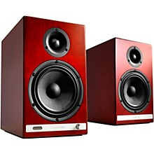 HD6 Wireless Bookshelf speakers Cherry