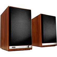 HD6 Wireless Bookshelf speakers Walnut