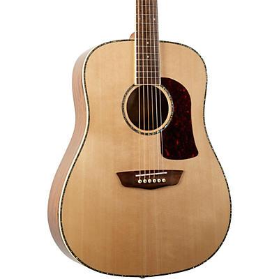 Washburn HD75SG Dreadnought Acoustic Guitar - Natural Ovangkol