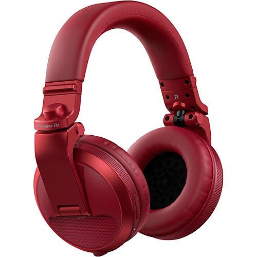 Pioneer DJ HDJ-X5BT Over-Ear DJ Headphones with Bluetooth Red