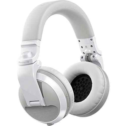 Pioneer HDJ-X5BT Over-Ear DJ Headphones with Bluetooth White