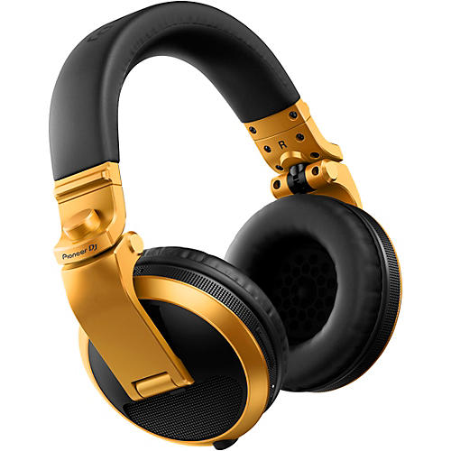 Pioneer HDJ-X5BT Over-ear DJ Headphones With Bluetooth Gold