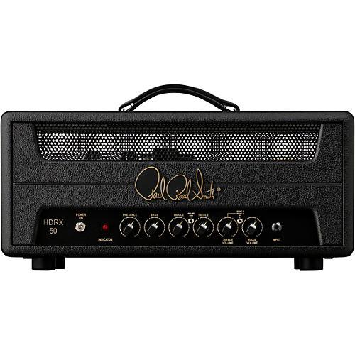 PRS HDRX 50 Watt Guitar Amp Head Black