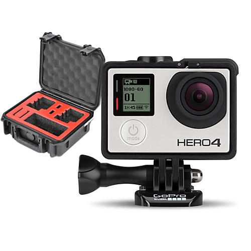 GoPro HERO4 Silver - Music with Double Case