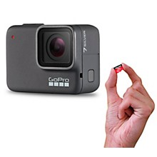 GoPro HERO7 Silver Action Video Camera with Memory Card