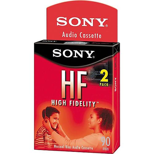 Sony HF Audio Cassette Tape 90 Minute 2-pack