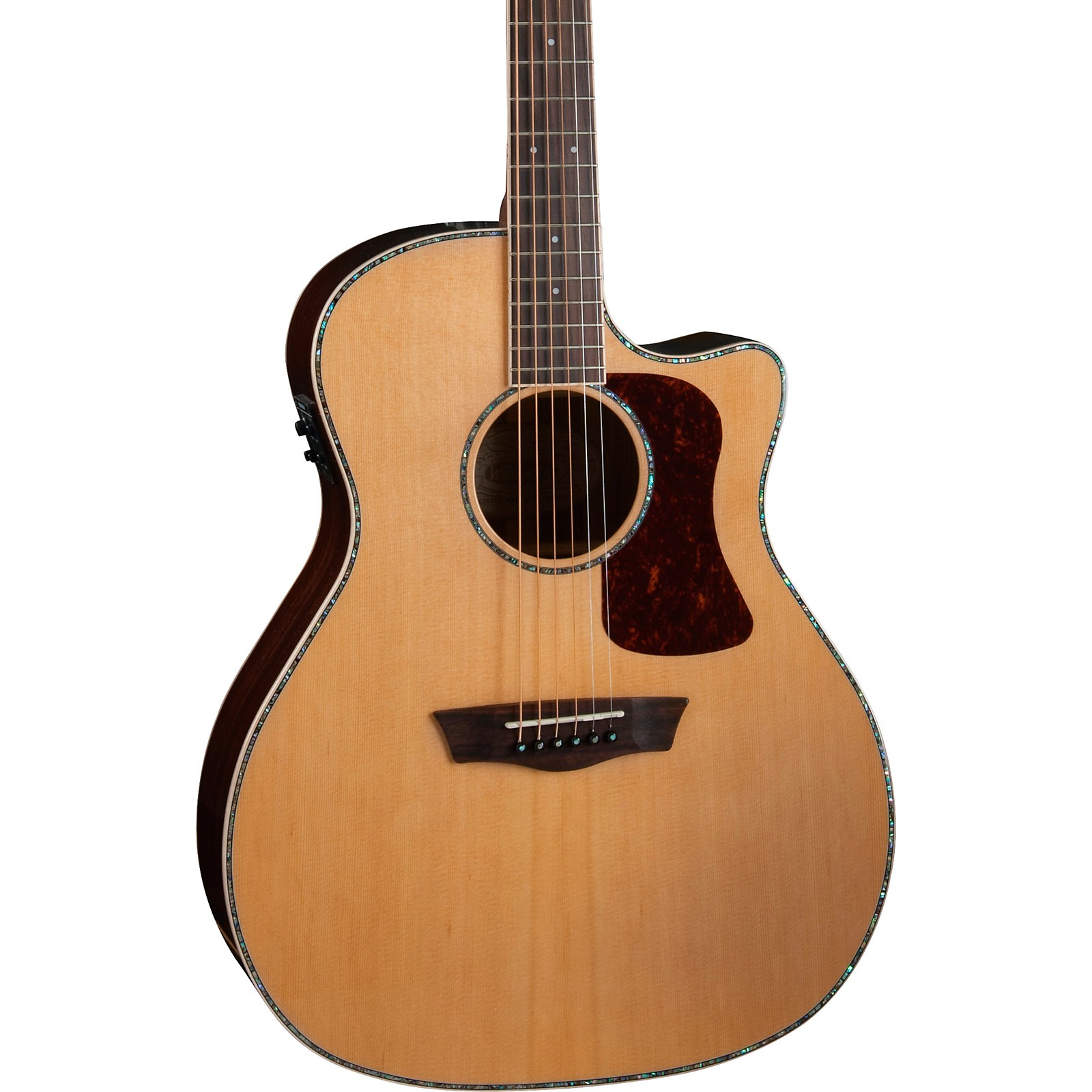 Washburn HG26SCE-O Heritage Grand Auditorium Acoustic-Electric Guitar