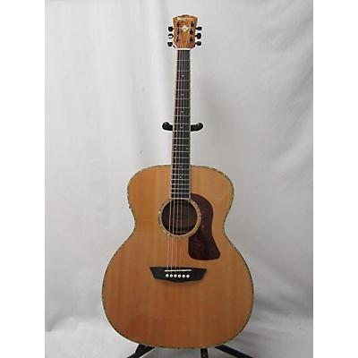 Washburn HG75 Acoustic Electric Guitar