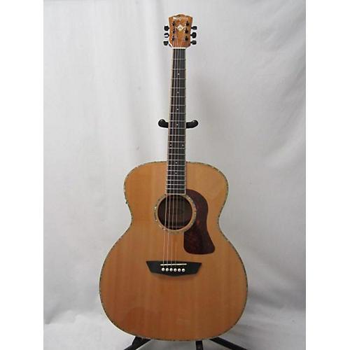 Washburn HG75 Acoustic Electric Guitar Natural