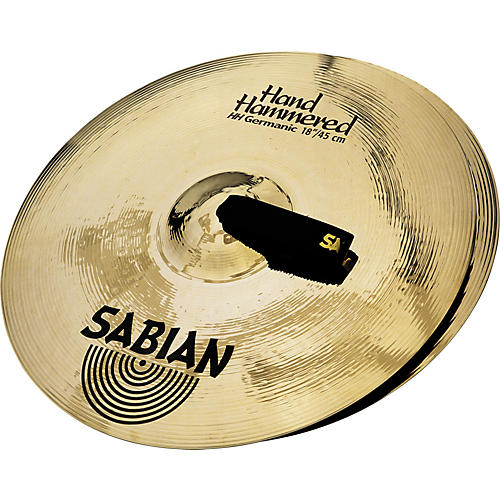 Sabian HH Hand Hammered Germanic Series Orchestral Cymbal Pair Condition 1 - Mint 21 in.