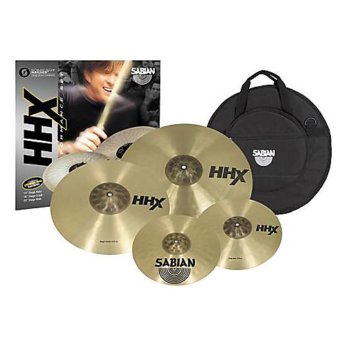 Sabian HHX Performance 4-Piece Cymbal Set