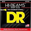 DR Strings HI BEAMS Short Scale 4 String Bass Medium (45-105) thumbnail