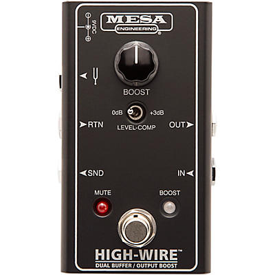 Mesa Boogie HIGH-WIRE Dual Buffer & Boost Effects Pedal