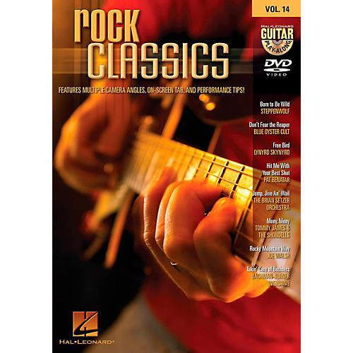 Hal Leonard HLP 320646 ROCK CLASSICS PLAY ALONG DVD VOL 14