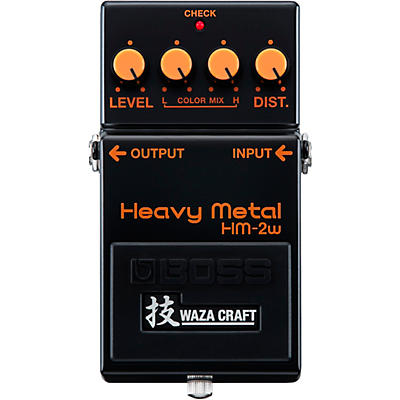 Boss HM-2W Heavy Metal Waza Craft Distortion Effects Pedal
