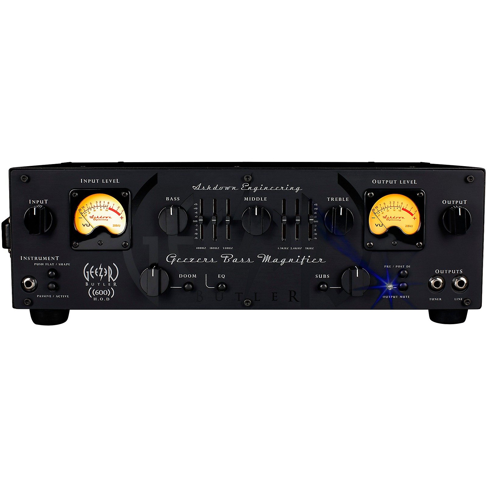 Ashdown HOD 600 Geezer Butler Signature 600W Bass Amp Head
