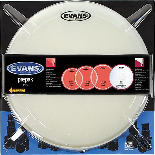 Evans HP2C Fusion Drum Head Prepak